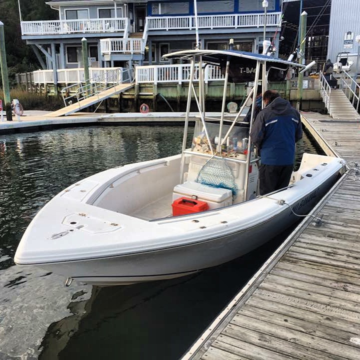 "ProFishNC Charters Boat ""No Banannaz"""