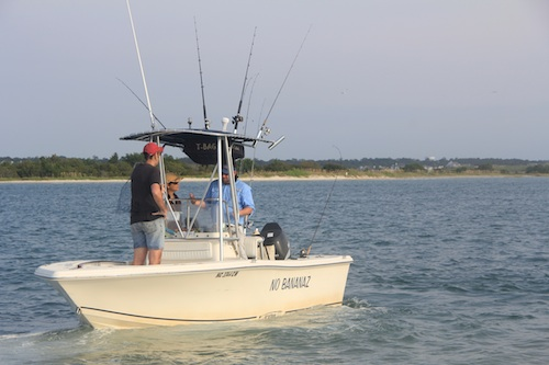 The No Bananaz Charter Fishing Boat
