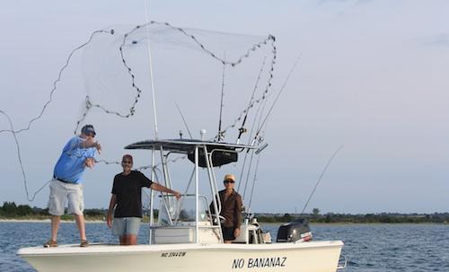 NC Fishing Charter Boat