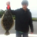 Wilmington, NC Fishing Charters, 10LB Flounder