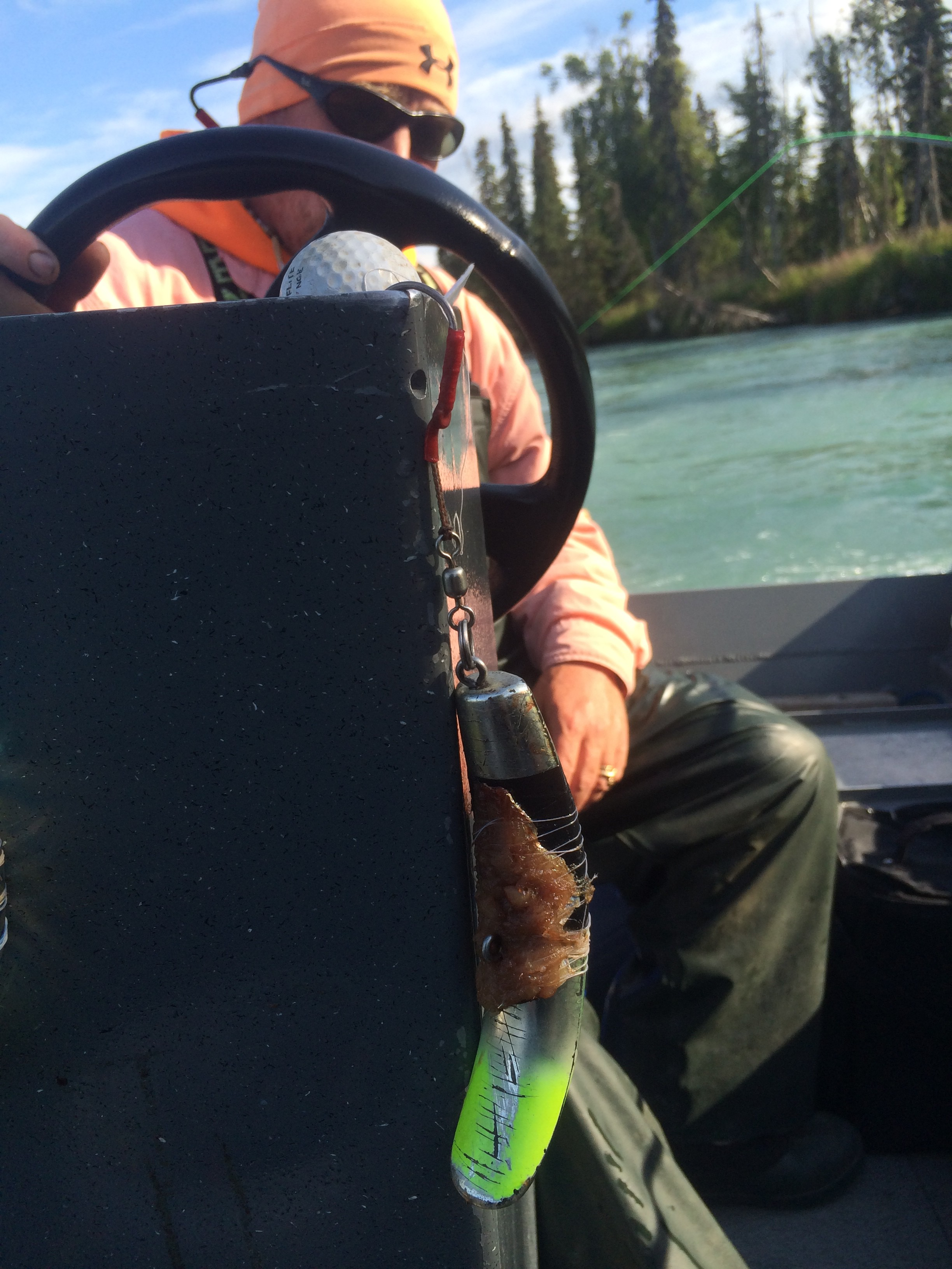 Captain Robert Cushway, Kenai River Guide