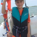 Surf City Family Fishing Charters, First Grey Trout