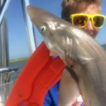 "Topsail Beach Kids Shark Fishing Charters, First ""Wee"" Shark"
