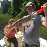 Wilmington, NC Inshore Fishing Charters, Red Drum Fishing