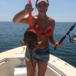 Topsail Beach Offshore Fishing, World Record Toadfish