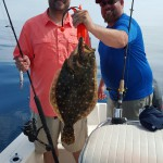 Carolina Beach Fishing Charters, Offshore Flounder Fishing