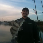 Feb Black Drum Fishing Charters Cape Fear River