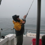 Jigging Halibut