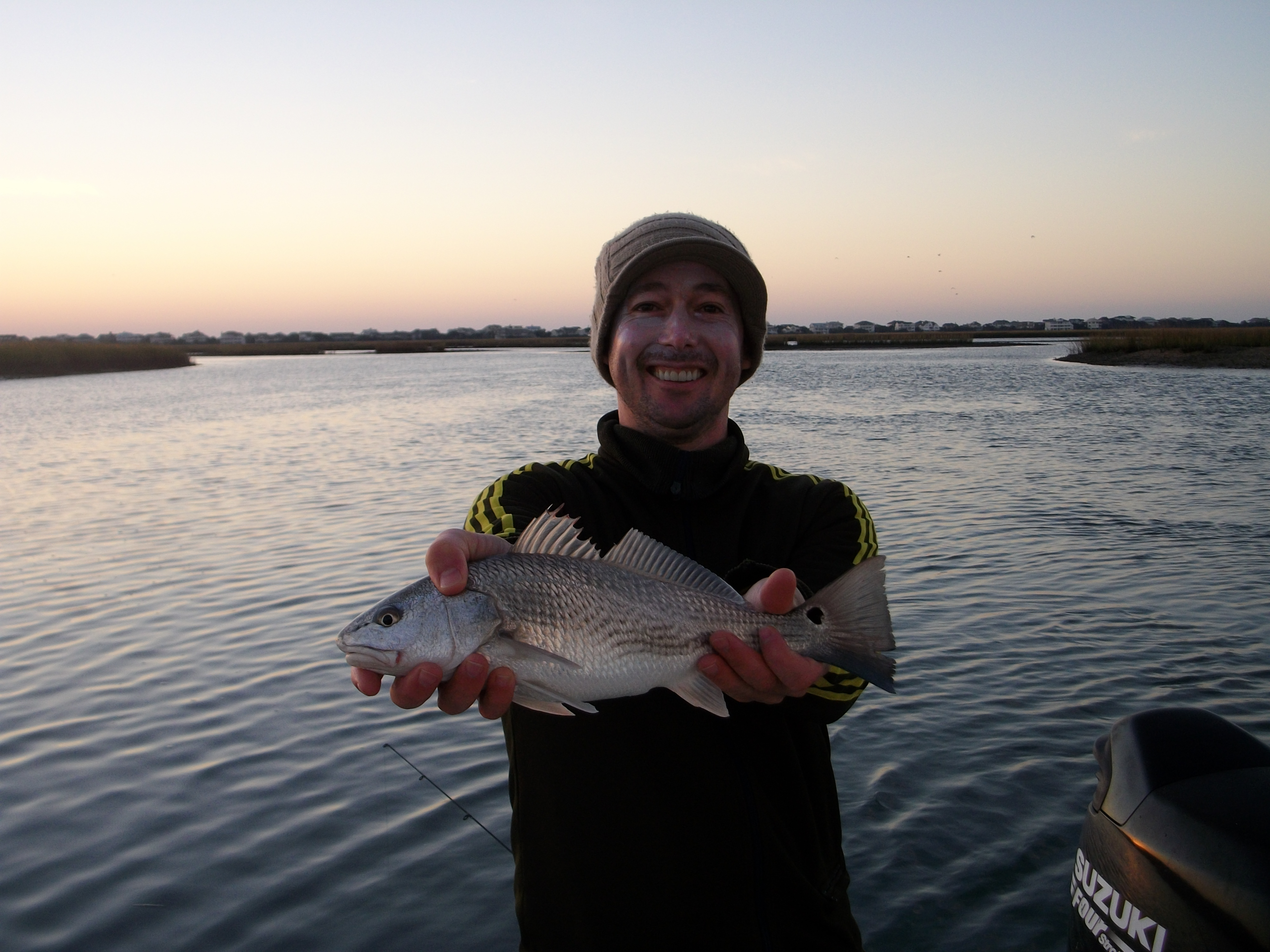 Early Morning Red Drum - Wilmington Fishing Charters