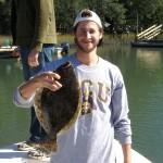 Topsail Beach Flounder Fishing
