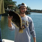 Big Spring Flounder at Topsail Beach