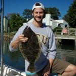 Topsail Beach Inshore Flounder Charters