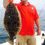 Monster Flounder, Surf City Fishing Charters