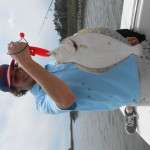 Catching Big Flounder Charters