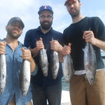 Great Bonito Fishing at Topsail Beach, NC