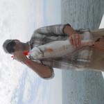 Jetty Fishing Red Drum at Wrightsville Beach