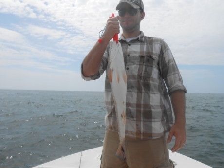 red drum fishing guides nc