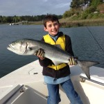 Kids Fishing Monster Bluefish