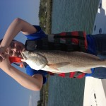 Kids Fishing Red Drum