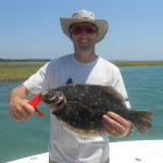 Inshore Flounder Fishing Charters