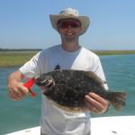 Inshore Flounder Fishing Charters