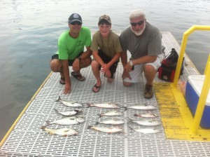 3 Generations Fishing Trip