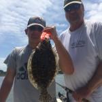 Figure Eight Island Flounder Fishing