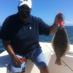 Offshore Flounder Fishing -Wilmington NC Fishing Charters