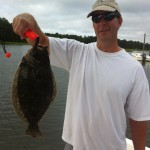 Backwater Flounder Fishing