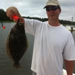 Backwater Flounder Fishing