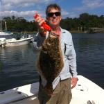 Wrightsville Beach Offshore Bottom Fishing Flounder
