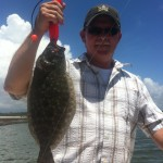 Figure Eight Island Flounder Fishing