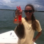 Spring Topsail Beach Flounder Fishing