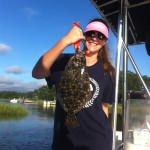 Topsail Island Flounder Fishing