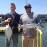 King Mackerel Fishing Topsail Beach