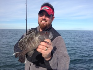 Winter Fishing Charters Black Seabass Wilmington NC